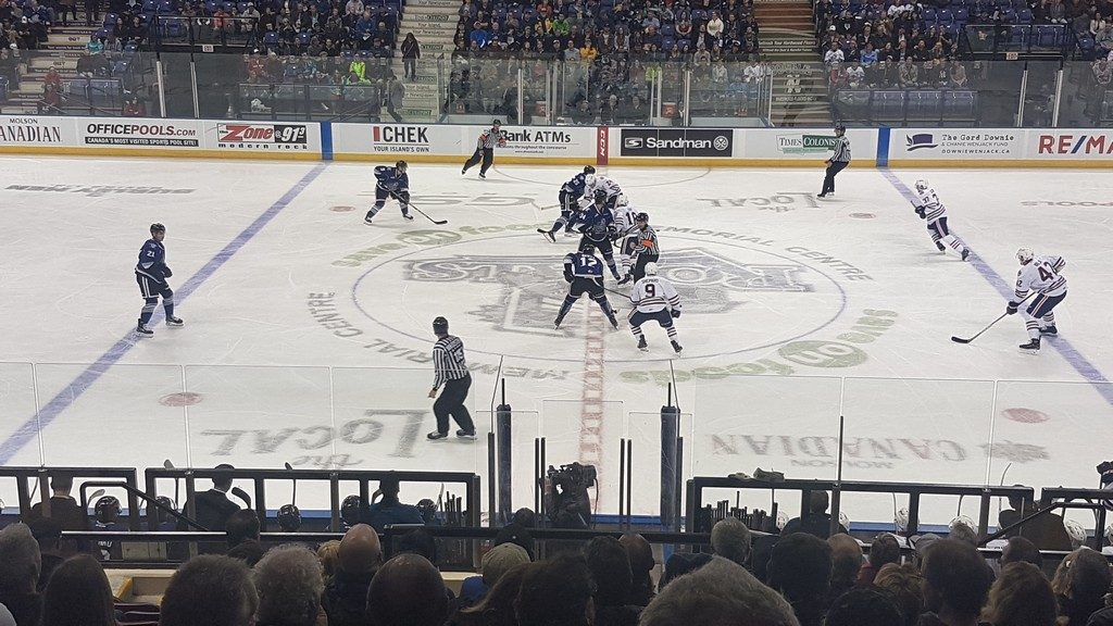 Victoria Royals hockey game