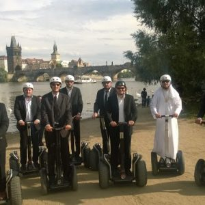 Exploring the city by Segway. Fast, convenient and fun to do.