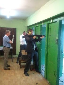 Shoot an AK-47