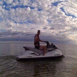 Jetski on the sea :)