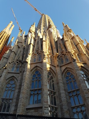 La Sagrada Familia side