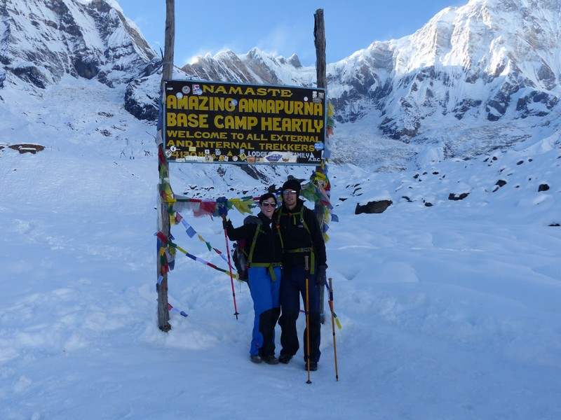 Annapurna Base Camp (ABC) - We made it!