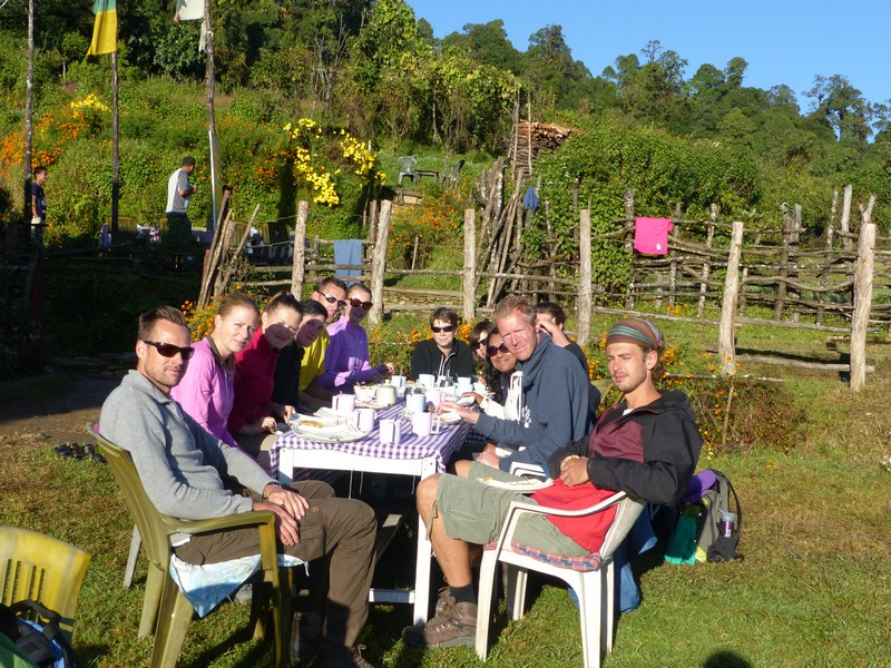 Final Himalaya breakfast