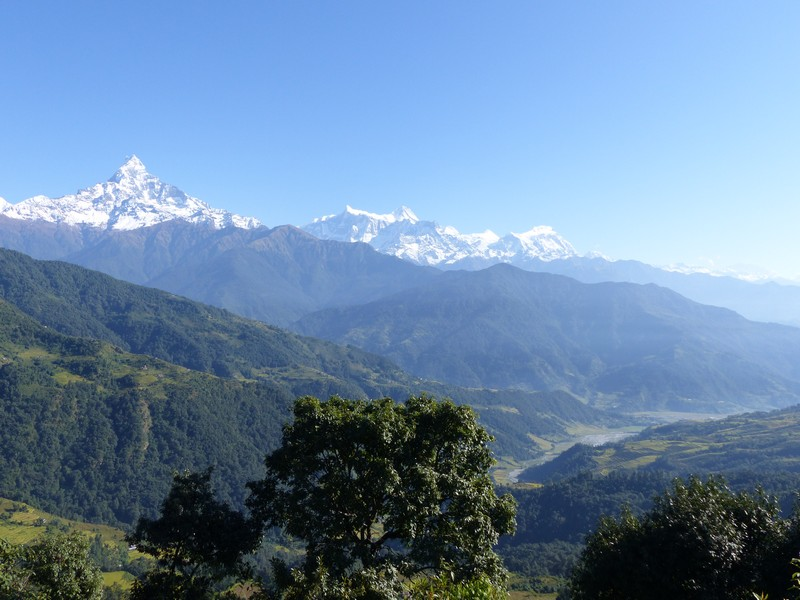 Last amazing view on the Himalaya