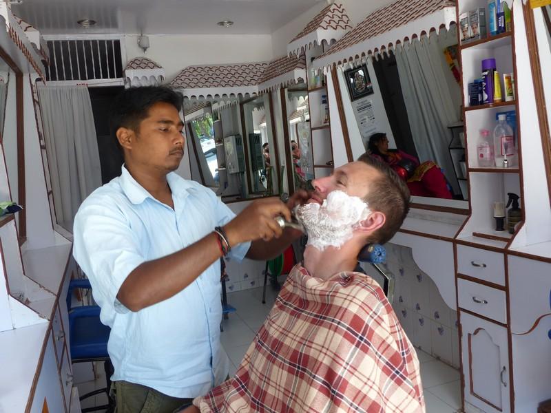 Barber shop visit