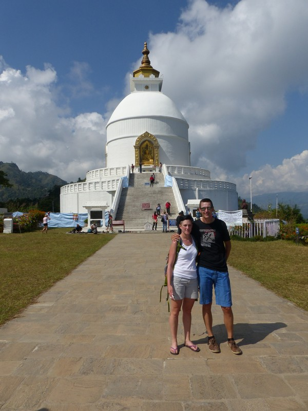 Shanti Stupa - World Peace Stupa
