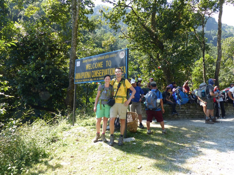 Entrance of Annapurna trekking area
