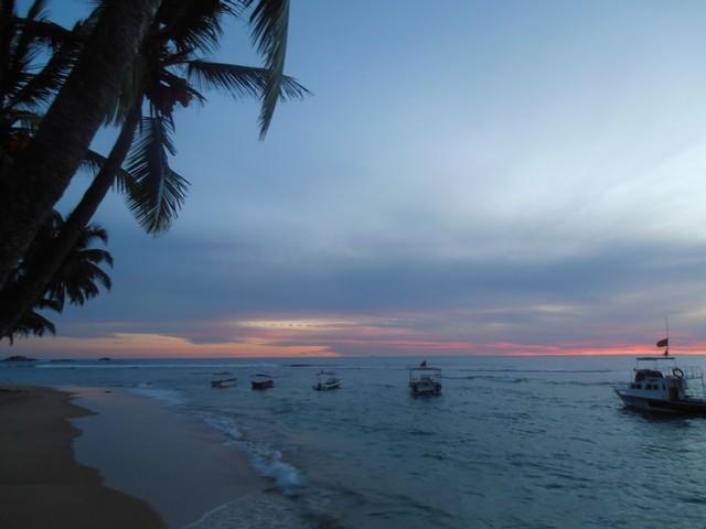 Sunset @ Hikkaduwa beach