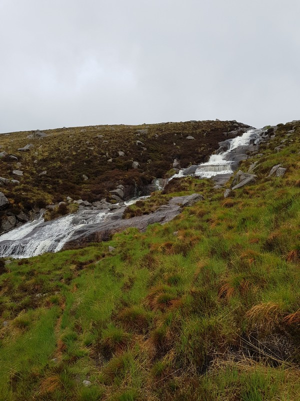 Goatfell waterfall
