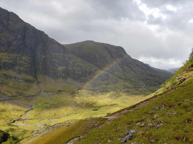 Rainbow in Glencoe