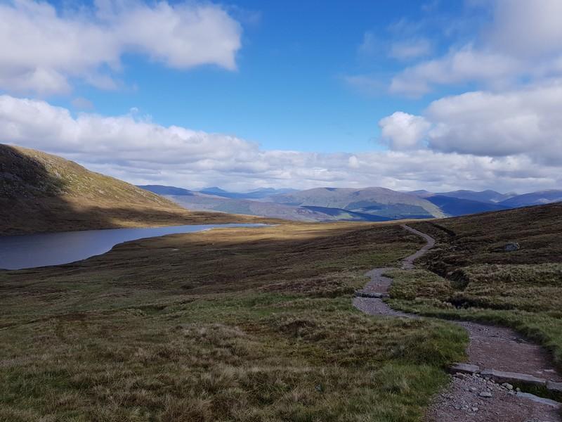 View on 'Halfway Lochan'