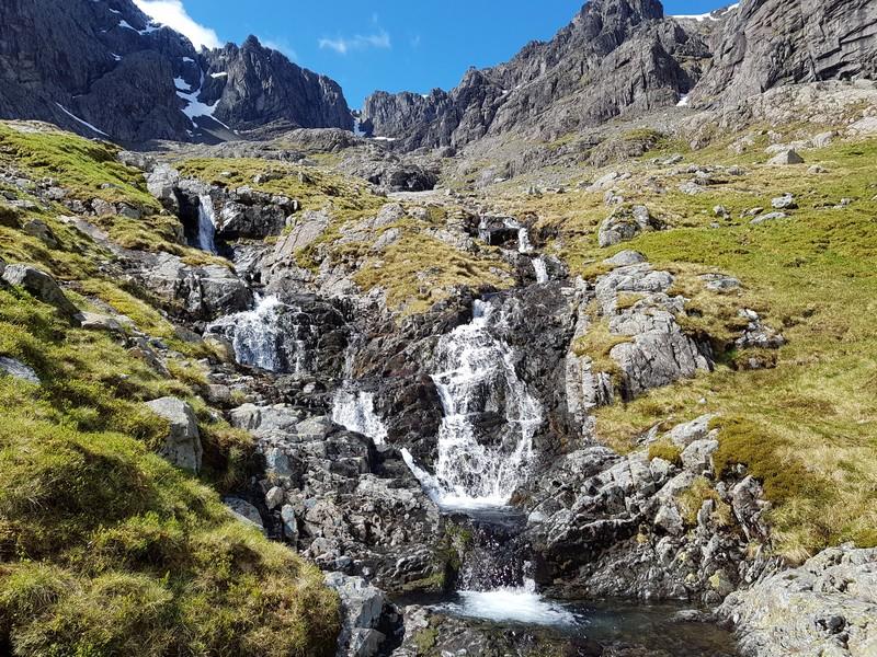 Waterfall halfway
