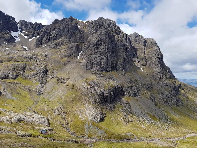 North Wall of Castle Ridge