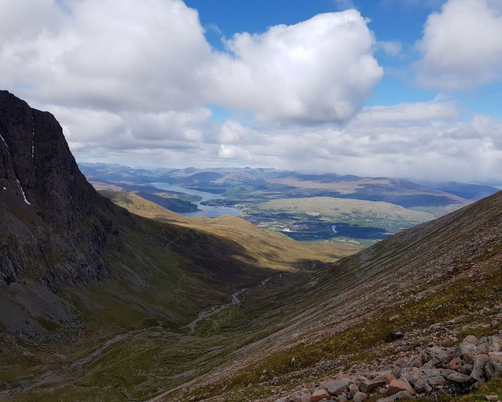 View from Carn Mor Dearg