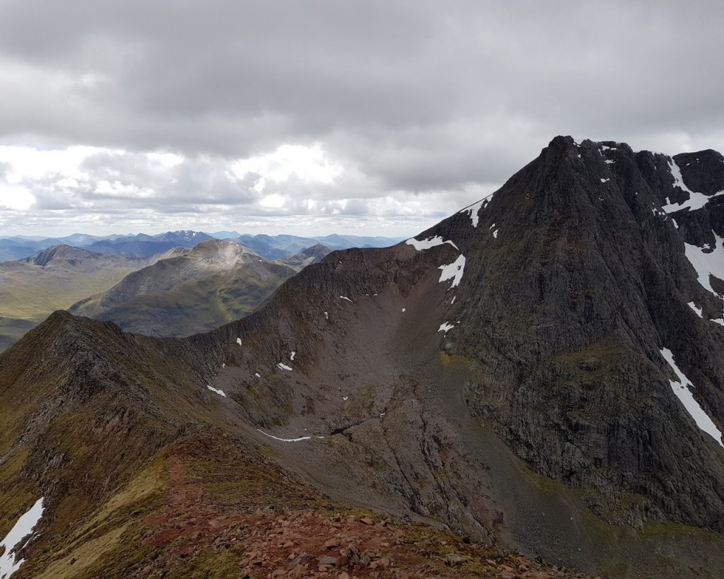 The ridge to conquer