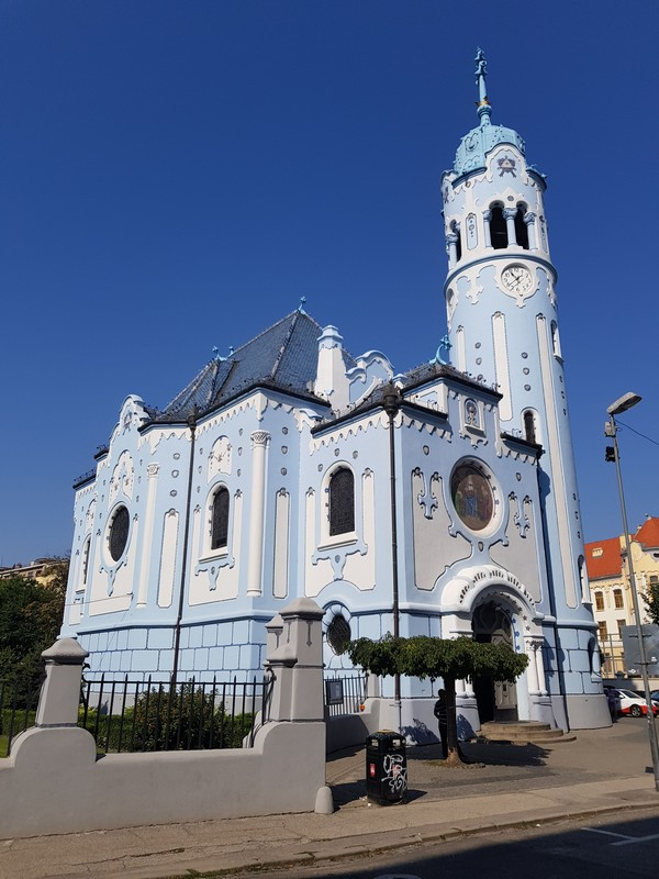 Modry Kostol (Blue Church)