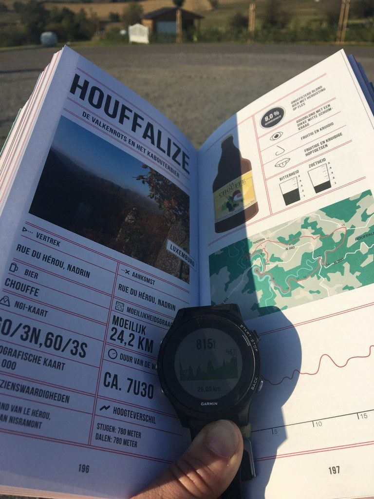 Finished Houffalize walk.