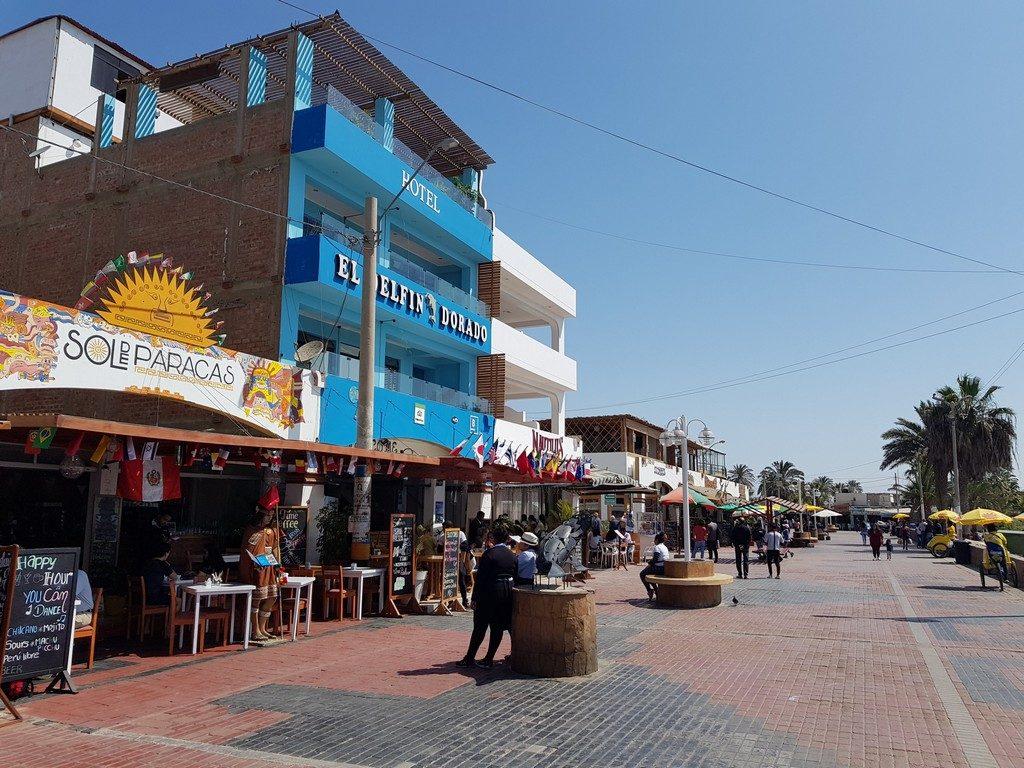 El Chaco sea promenade