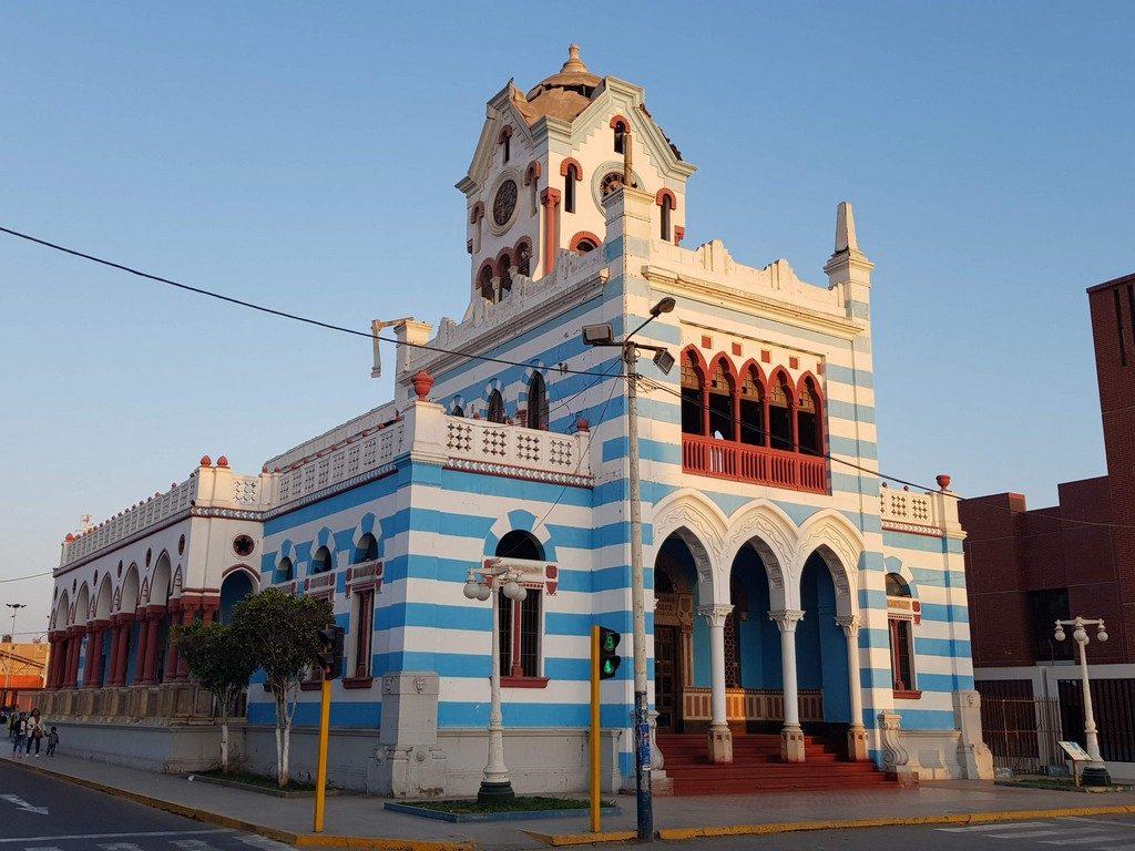 Pisco municipal building
