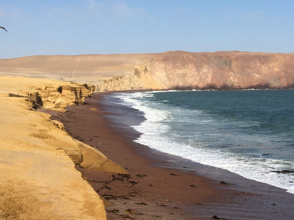 Paracas beach