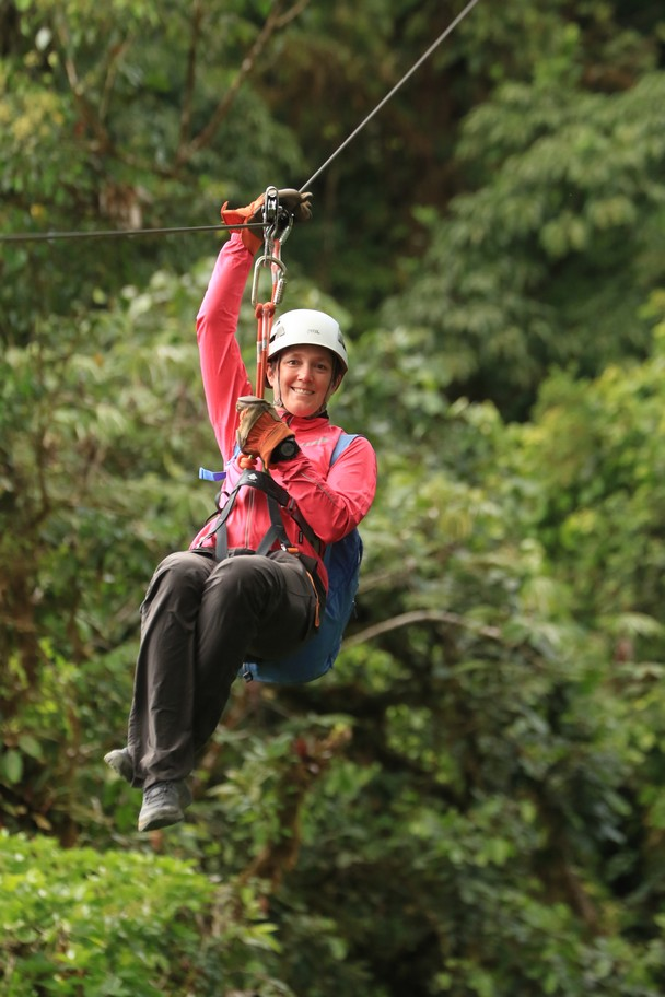 Zipline in Monteverde