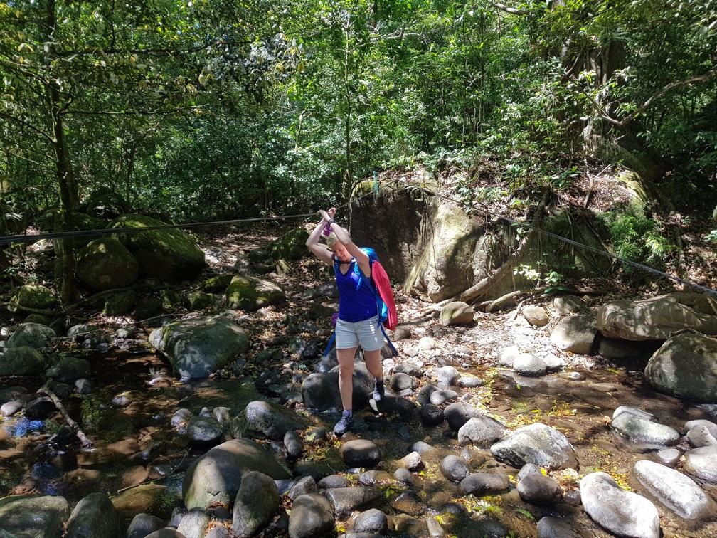 Adventurous walk