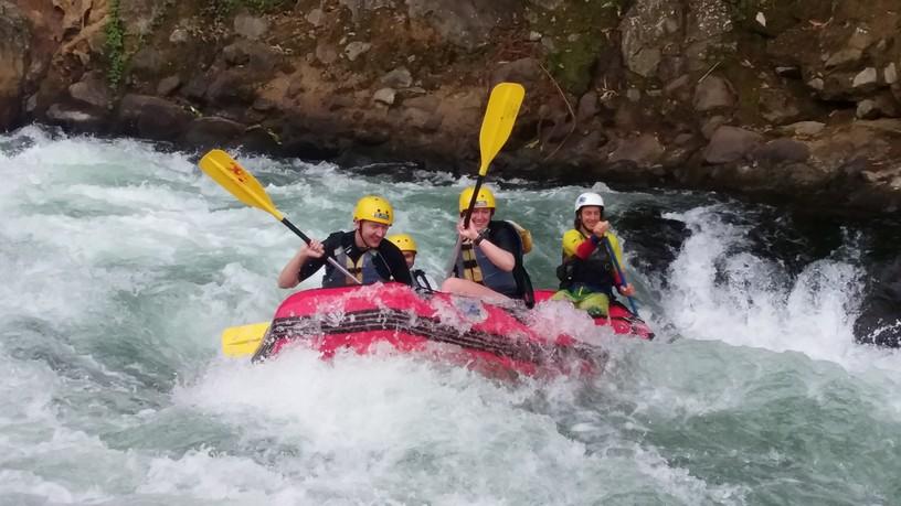White water rafting in Sarapiqui