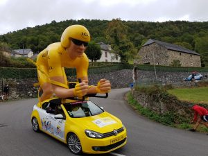Un jour dans le Tour (de France)