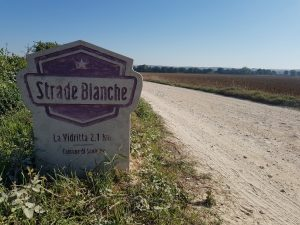First Strade Bianche segment