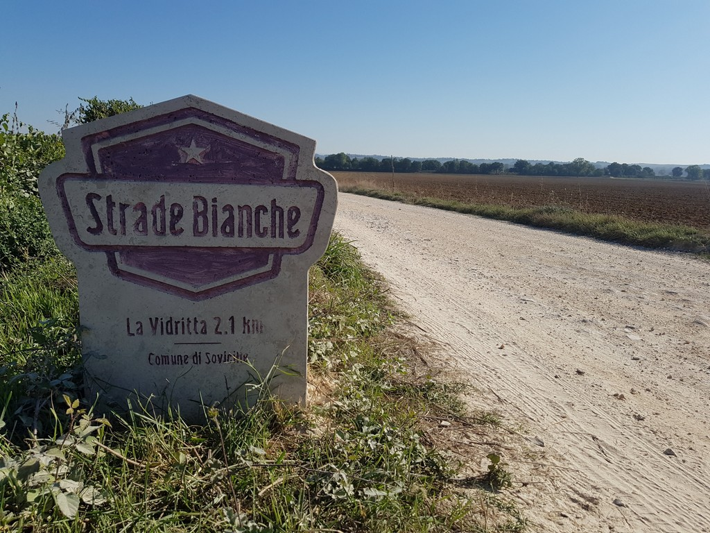 First Strade Bianche segment