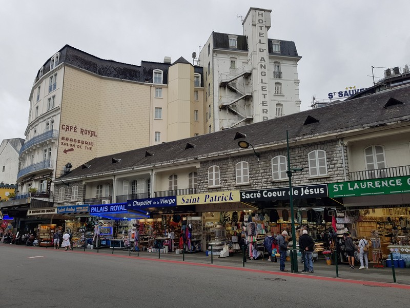 Numerous shops